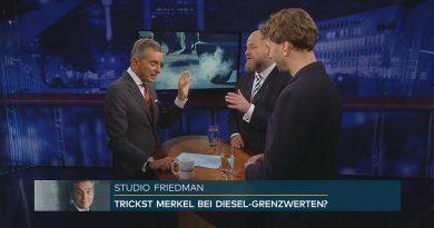 Studio Friedman: Kommt die Verkehrswende?