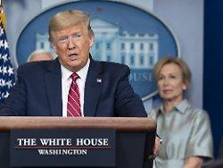 """Richtiger Corona-""""Instinkt"""": Trump lobt sich in Krise selbst"""