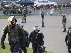 Proteste in Belarus: Polizei geht gegen Demonstranten vor