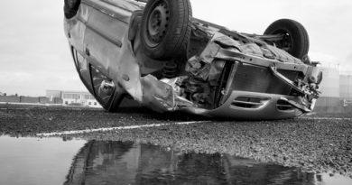 Verkehrsunfall auf der B 41