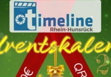 Timeline Rhein-Hunsrück startet erstmalig einen Adventskalender