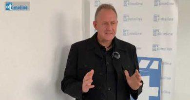 Jerry Tönjes zu Besuch bei Timeline Rhein-Hunsrück