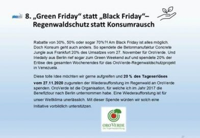 """Green Friday"" statt ""Black Friday"" bei Höhenwind"