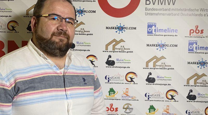 Vorstellung von Aziz Sevindik als Repräsentant vom BVMW