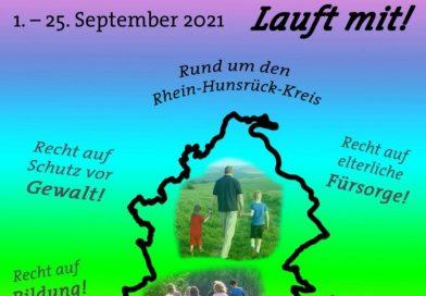 Wandern für die Kinderrechte rund um den Rhein-Hunsrück-Kreis
